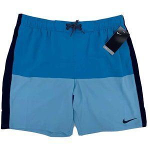Nike Repel Hydrofuge Blue Swim Trunks